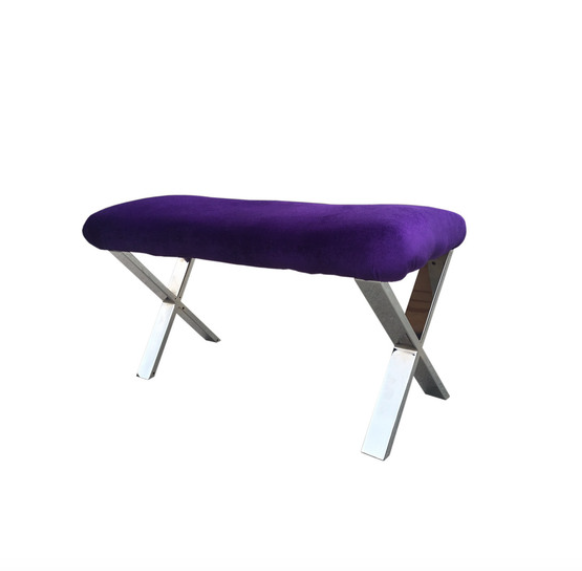 16 Modern X Furniture Legs Coffee Table Metal Chrome 2pc Xc