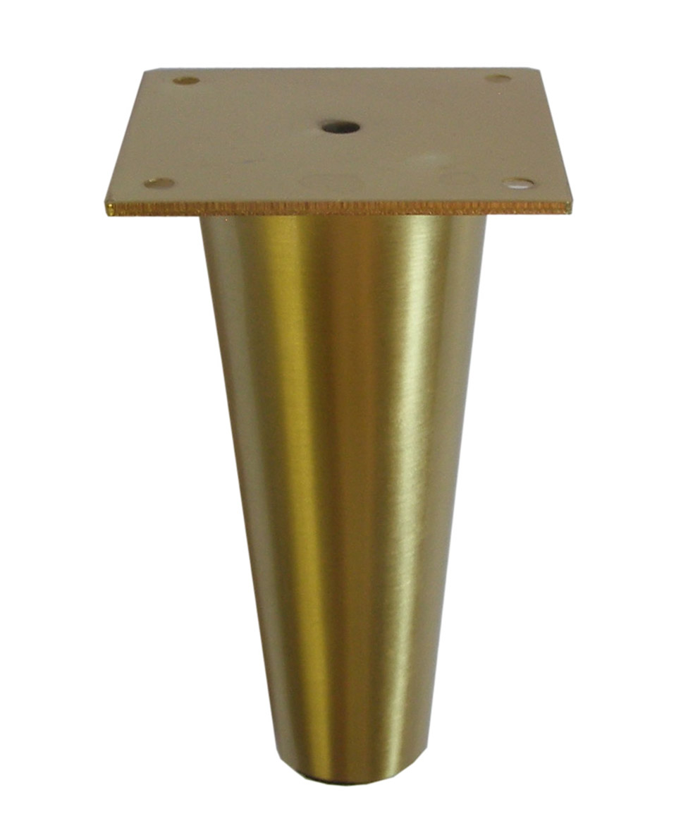 Buy Brass Finish 6 5 Quot H Tapered Metal Leg 578 621bg At