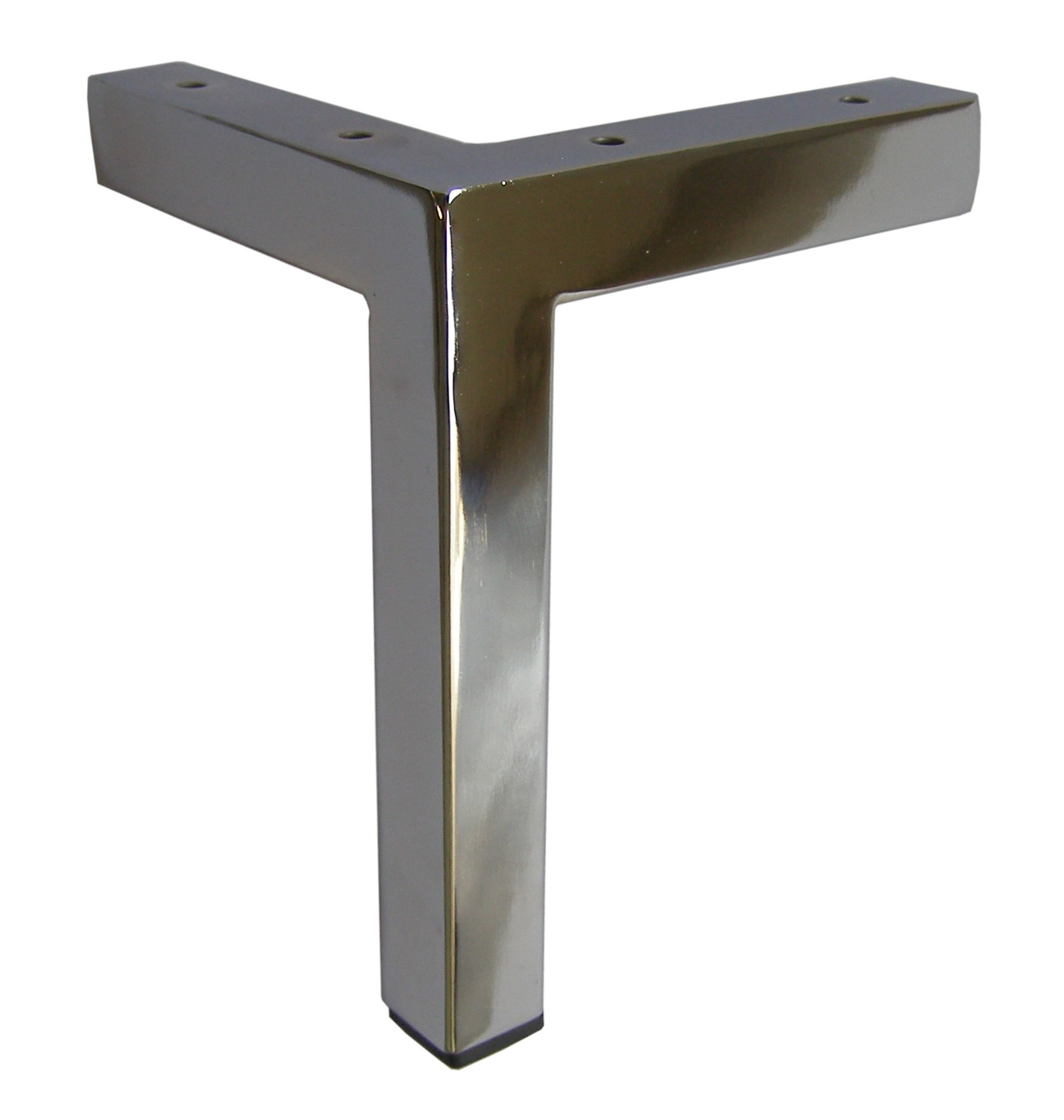 Metal Furniture Leg, Metal Feet,7u2033H L Top Chrome Square Leg 801 1 7