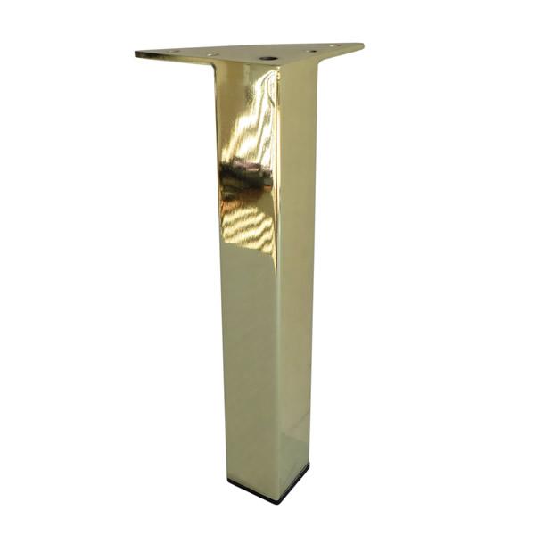 Buy Metal Furniture Leg Metal Foot 7 Quot H Brass Finish