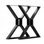 2824 X table legs black